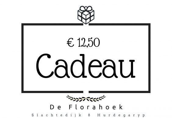 Cadeaubon – 12,50 euro