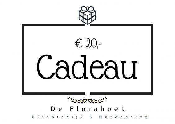 Cadeaubon – 20 euro