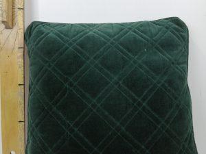Kussen Nanne 45x45cm dark green
