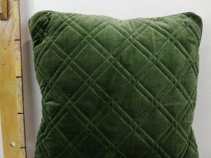 Kussen Nanne 45x45cm oil green