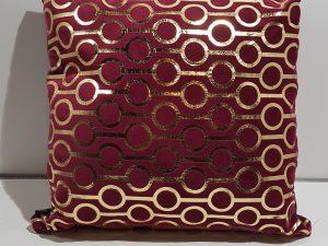 Kussen Ringo 45x45cm pomegranate