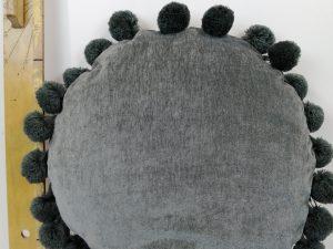 Kussen Stig 40Øcm dark grey