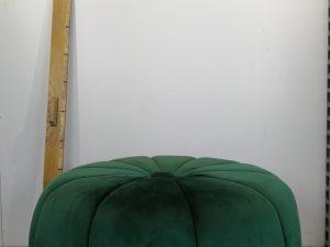 Poef Yara 68x68x38cm dark green