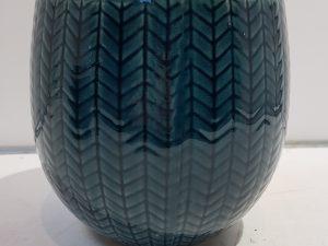 Pot Faja donkerblauw D17 H16