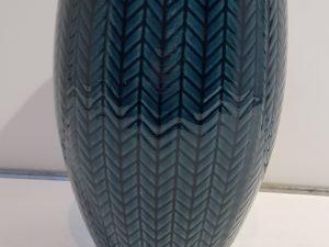 Pot hoog Faja donkerblauw D18 H27