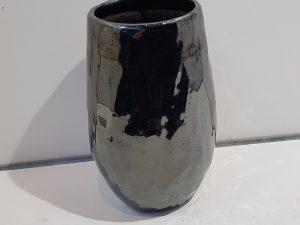 Pot hoog Lieke pearl black D18 H29
