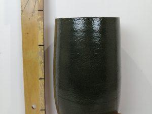 Pot hoog Zembla green D17 H30