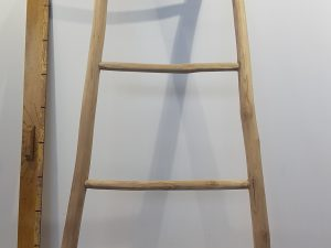 TEAK STAIRS NATURAL B55H160CM