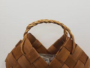 Bask. Bag Aureola Ov. 43x18x42 bruin