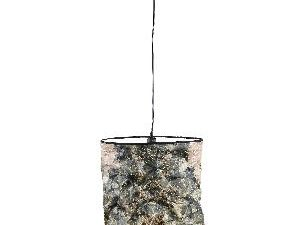 Jamilia Brown paper ceiling lamp jungle high round