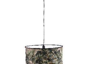 Jamilia Brown paper ceiling lamp jungle wide round