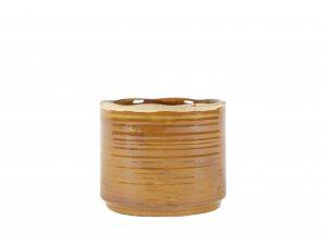 Pot Jordy caramel D18 H15