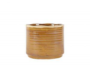 Pot Jordy caramel D20 H18