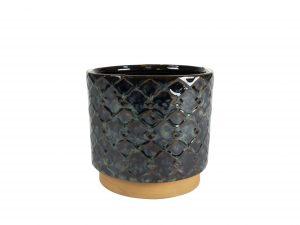 Pot Mees vintage black D16 H14