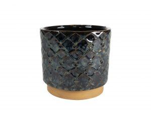 Pot Mees vintage black D18 H17