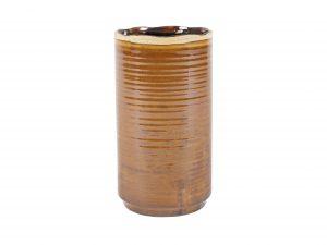 Pot hoog Jordy caramel D14 H26