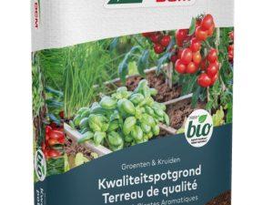 Potgrond Groente en kruiden 10liter BIO