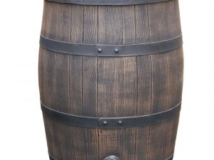 Roto regenton 120 liter ø 55 x h.74 cm bruin
