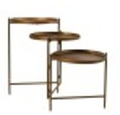 Table foldable metal 113.5x35x57.5cm