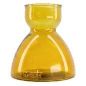 Vase recycled glass Ø21.5x23cm