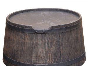 Voet tbv Roto ton 120 ltr bruin