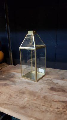 alize lantern gold – l17,5xw15,5xh37cm