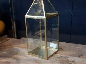 alize lantern gold - l17,5xw15,5xh37cm