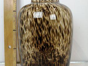Artic cheetah Ø25 x H35 cm
