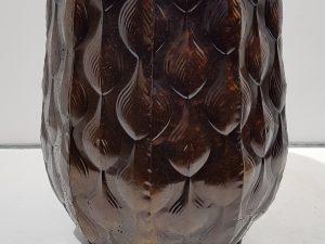 Ceres pot rond d.bruin - h30xd25,5cm