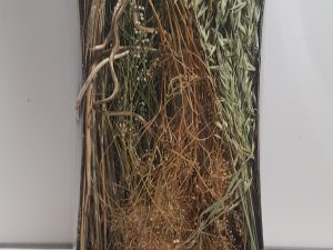Dried flowers mix tray 58x28x10cmNatural