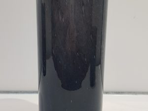 Estelle vaas cilinder glas d.blauw - h31xd11,5cm