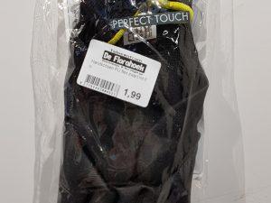 Handschoen PU flex zwart mt 8