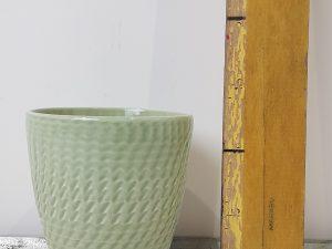 Japon pot jade green