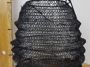Lant Habergeon D23 H30 zwart