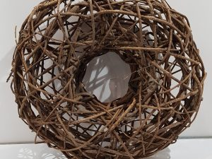 Liane wreath 48cmNatural
