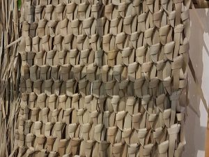 Palm leaf mat 60x100cmNatural
