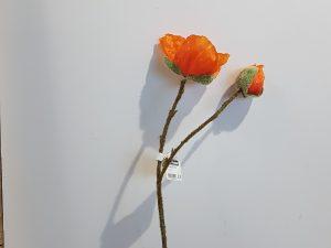 Papaver l43cm oranje