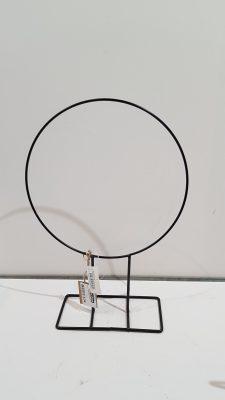 stand. ring hula hoop