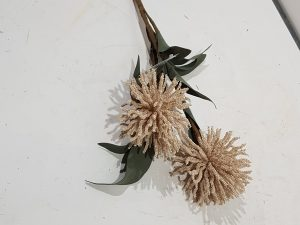 Stem Pompom Flower l70.0Pink