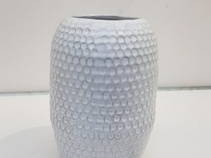 terrac vase w dot design