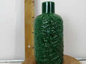 vaas aardewerk blad patroon