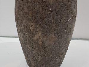 vaas terracotta structuur