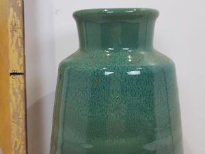 Vase porcelain 14x14x19.5cm