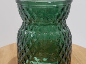Vase Sack Diamond D10.0h13.0Groen