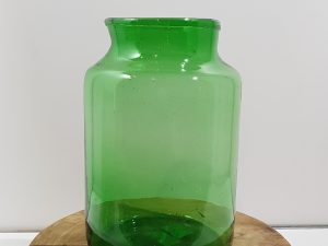 Vienne vaas glas groen h335xd21cm