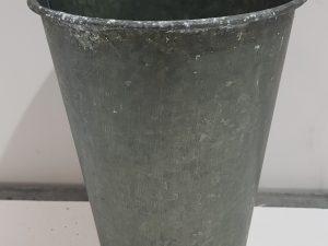 Zinc Vintage Black Pot D13H16