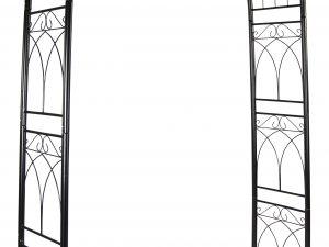 Baron Garden-Arch Bow Black L114W38H225