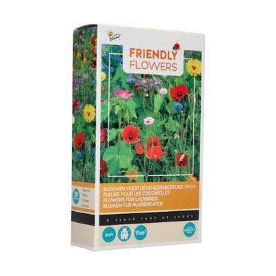 Buzzy® Friendly Flowers Lieveheersbeestjes15m²