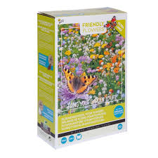 Buzzy® Friendly Flowers XL Vlinders Laag 50m² (6)