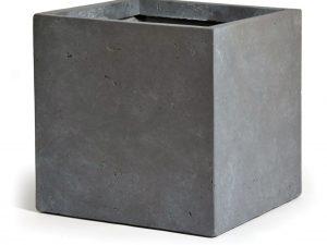 *Clayfibre Cubi AuthGrey W23H23